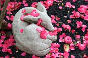 Camellia Showers Faun Dreams