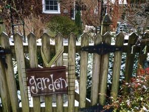 Garden Gate, March 2014
